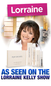 Eye Secrets On The Lorraine Kelly Show